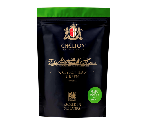 Благородный дом 400 гр зеленый крупнолистовой чай, зип пакет