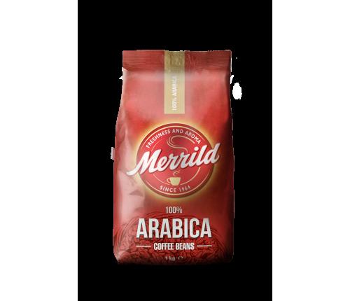 """Кофе в зернах """"Merrild Beans Arabica"""" 1000 гр."""