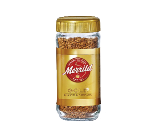 """Кофе растворимый сублимированный """"Merrild Gold Smooth&Aromatic"""" 100гр."""
