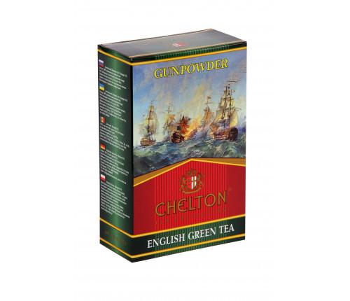 Английский зеленый чай GunPowder 100грамм