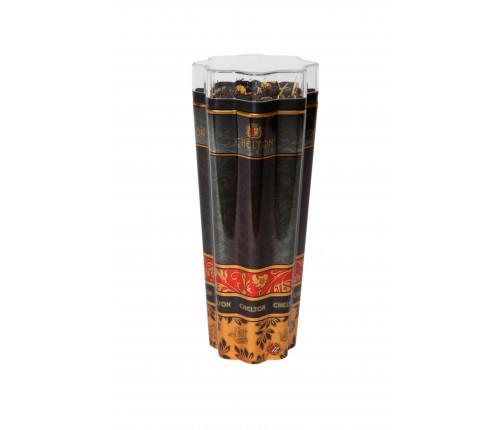 """Chelton """"Черная Звезда"""" черный листовой чай с добавками, ж/б 50гр в подарочной упаковке"""