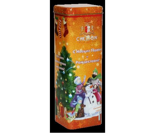 «Новогоднее Волшебство»   крупнолистовой черный чай (ОР) , ж/б, 80гр.