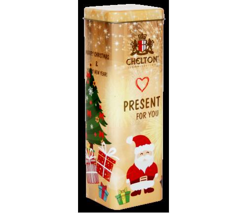 """""""Подарок для тебя"""" черный крупно-листовой чай (ОР) ж/б, 80 гр."""