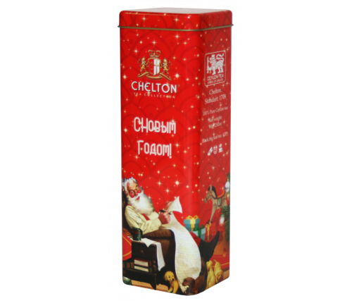 """""""Добрый подарок"""" черный крупно-листовой чай (ОР) ж/б 80 гр."""