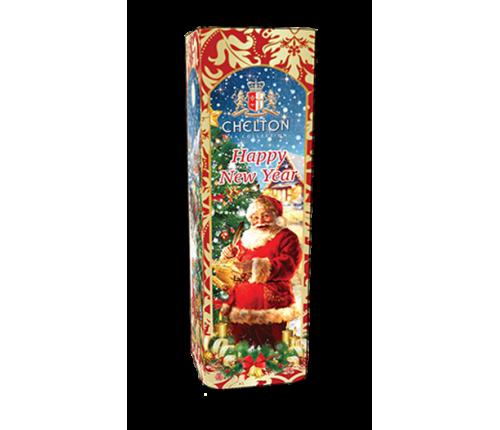 """""""Веселого Нового Года"""" черный крупнолистовой чай (OP) ж/б 80 гр."""