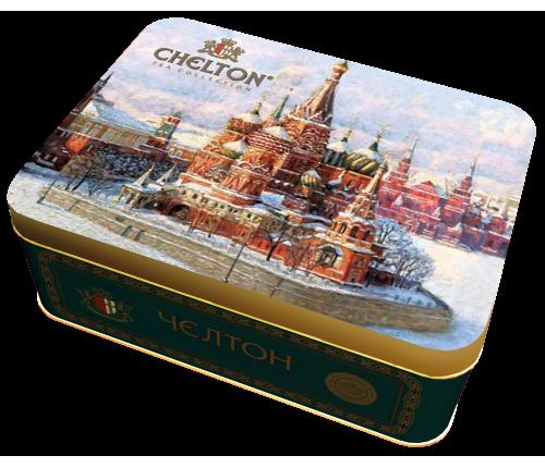 Храм Василия Блаженного черный листовой чай (ОР) ж/б, 50гр