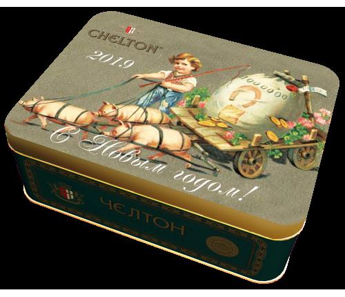 Мешок Счастья черный листовой чай (ОР) ж/б, 50гр